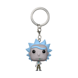 Front image of Rick - Rick and Morty pop keychain