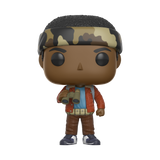 Front image of Lucas with Binoculars - Stranger Things pop