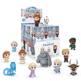 Box and assortment image of Frozen 2 mystery minis