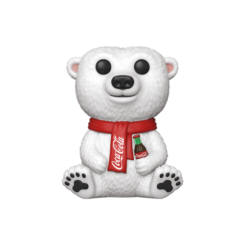 Front image of Coca-Cola Polar Bear pop