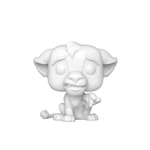 Pop! Custom: D.I.Y. Lion King - Simba