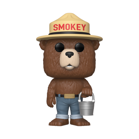 Pop! Ad Icons: Smokey the Bear with Bucket