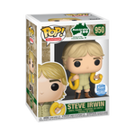 Steve Irwin with Snake - Crocodile Hunter