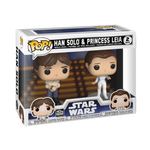 Pop! Star Wars: Empire Strikes Back - Han Solo & Princess Leia 2-Pack