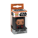 Box image of Moff Gideon with Dark Saber - The Mandalorian pop keychain