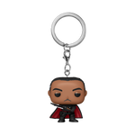 Front image of Moff Gideon with Dark Saber - The Mandalorian pop keychain