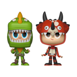 Front image of Rex & Tricera Ops 2-Pack - Fortnite pint size heroes