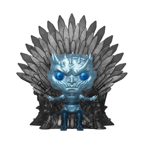 Pop! Game of Thrones Deluxe: Metallic Night King on Throne