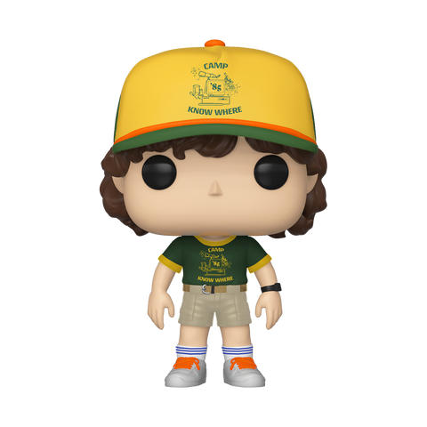 Dustin at Camp - Stranger Things