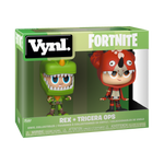 Box image of Rex & Tricera Ops 2-Pack - Fortnite pint size heroes