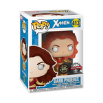 Dark Phoenix with Flames - X-Men