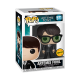 Box image of  image of Artemis Fowl w/ Chase pop chase variant with glasses