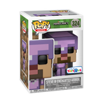 POP! Games: Minecraft - Steve In Enchanted Armor