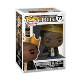 Pop! Rocks: Music - Notorious B.I.G. with Crown