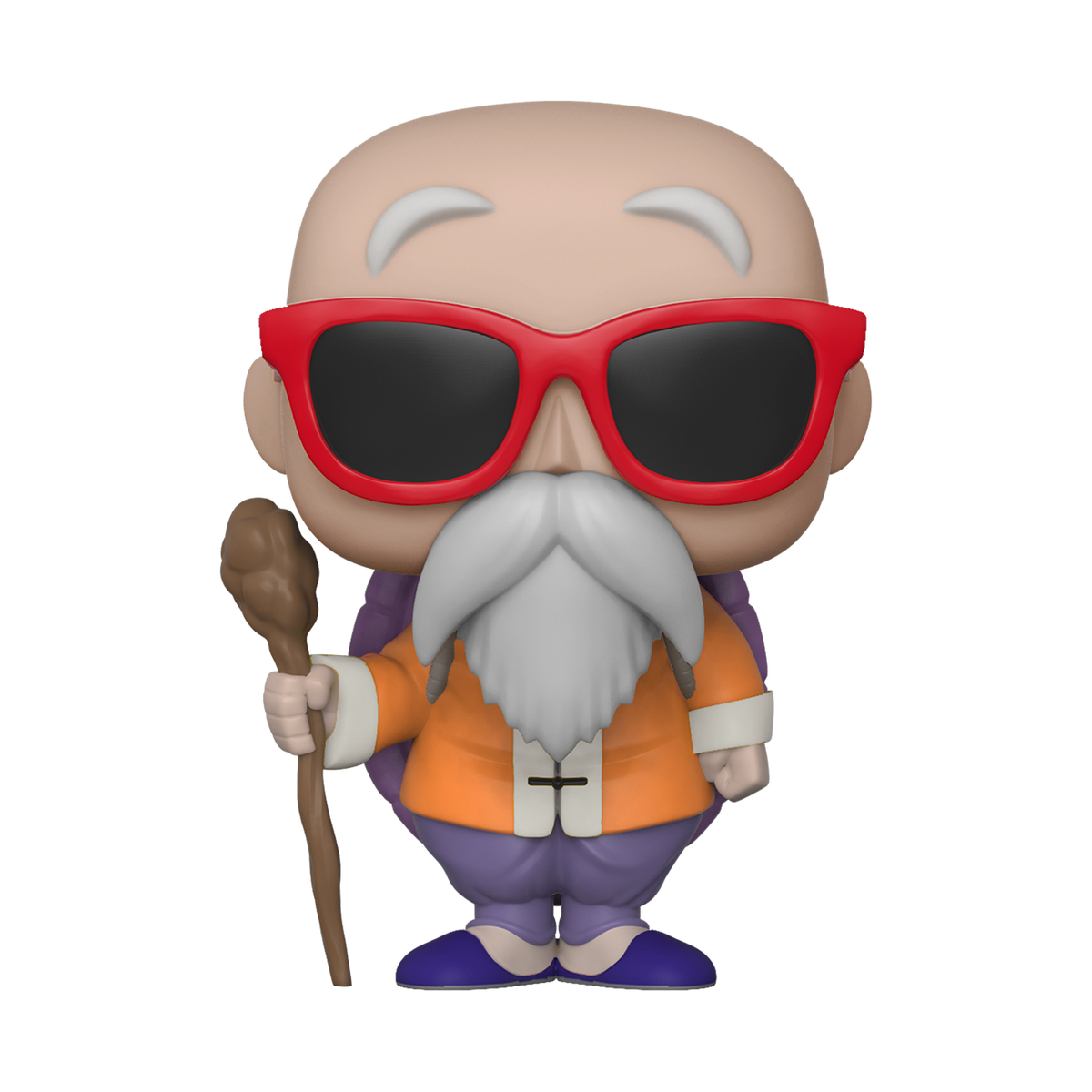 Pop Animation Dragon Ball Z Master Roshi With Staff