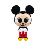 Front image of Mickey Mouse mini plush