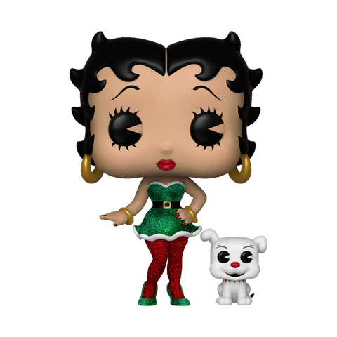 Pop! Animation: Elf Betty Boop & Pudgy