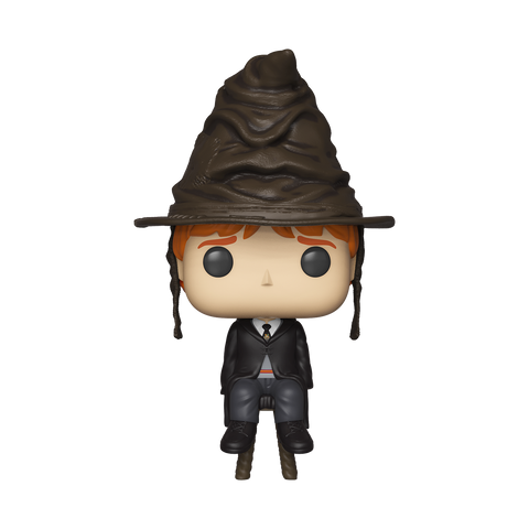 Ron Weasley with Sorting Hat - Harry Potter