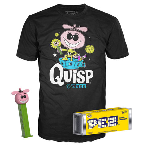 POP! PEZ & Tee: Quisp Bundle