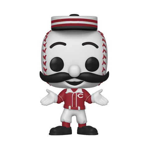 Mr. Redlegs - Reds Mascot