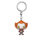 Pocket Pop! Keychain: IT 2 - Pennywise with Skateboard
