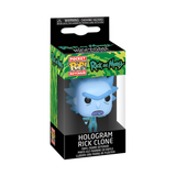 Box image of Hologram Rick Clone - Rick and Morty pop keychain