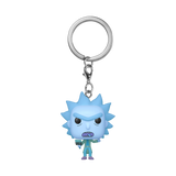 Front image of Hologram Rick Clone - Rick and Morty pop keychain
