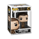 Box image of Arya Stark with Two Headed Spear - Game of Thrones pop