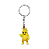 Front image of Peely - Fornite keychain