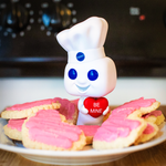 Pillsbury Doughboy with Heart