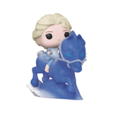 Front image of Elsa Riding Nokk - Frozen 2 pop ride