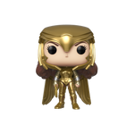 Front image of Wonder Woman Golden Armor - WW84 pop