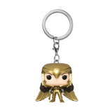 Front image of Wonder Woman Golden Armor - WW84 pop keychain