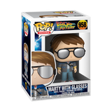 Marty with Glasses - Back to the Future