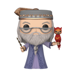 10'' Albus Dumbledore with Fawkes - Harry Potter