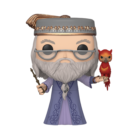 "Pop! Harry Potter: 10"" Albus Dumbledore with Fawkes"