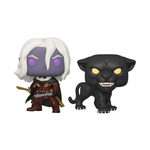 Drizzt Do'Urden and Guenhwyvar 2 Pack - Dungeons & Dragons