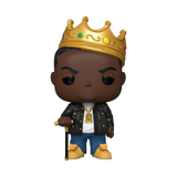Pop! Rocks: 10'' Notorious B.I.G with Crown