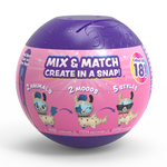 Back image of Snapsies Mix and Match Surprise Series 1 Capsule