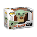 Box image of The Child with Cup - The Mandalorian pop