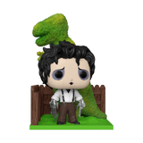 Front image of Edward Scissorhands with Dinosaur Shrub pop deluxe