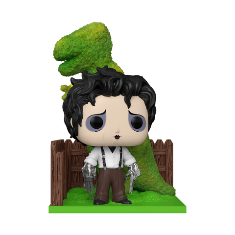 Edward Scissorhands with Dinosaur Shrub