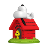 Snoopy & Woodstock with Doghouse - Peanuts