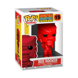 Red Rocker - Rock 'Em Sock 'Em Robots