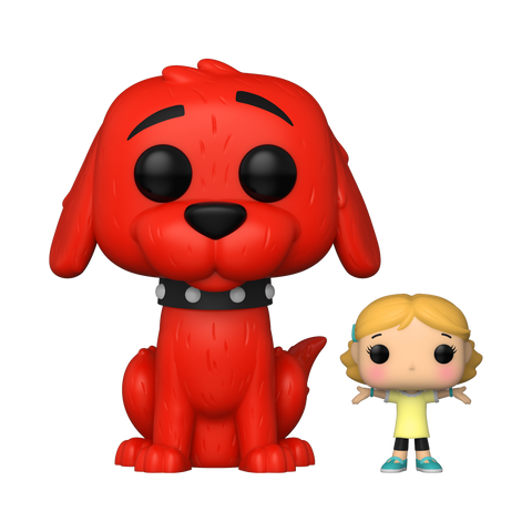 Clifford with Emily - Clifford The Big Red Dog