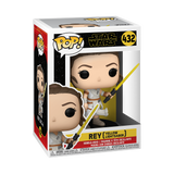 Box image of Rey with Yellow Lightsaber - The Rise of Skywalker pop