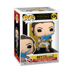 Rey with Two Lightsabers - The Rise of Skywalker