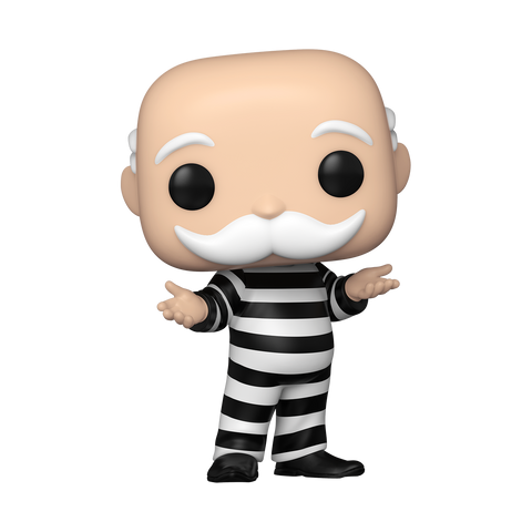 Mr. Monopoly In Jail