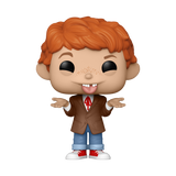 Front image of Alfred E. Neuman w/ Chase - MAD TV pop chase variant with tongue sticking out