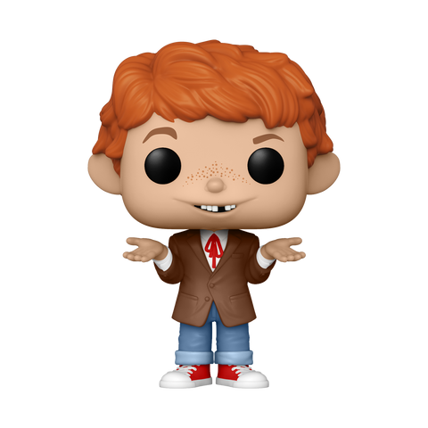 Front image of Alfred E. Neuman w/ Chase - MAD TV pop